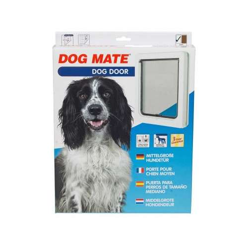 Cuchas puertas contencio n puerta para perro mediano for Puerta para perros